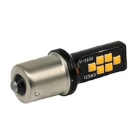 BA15S No Error Bright Auto Brake Lights Car Backup Reverse Lamps Turn Signal Bulbs 3030 CHIPS 1156 smd led