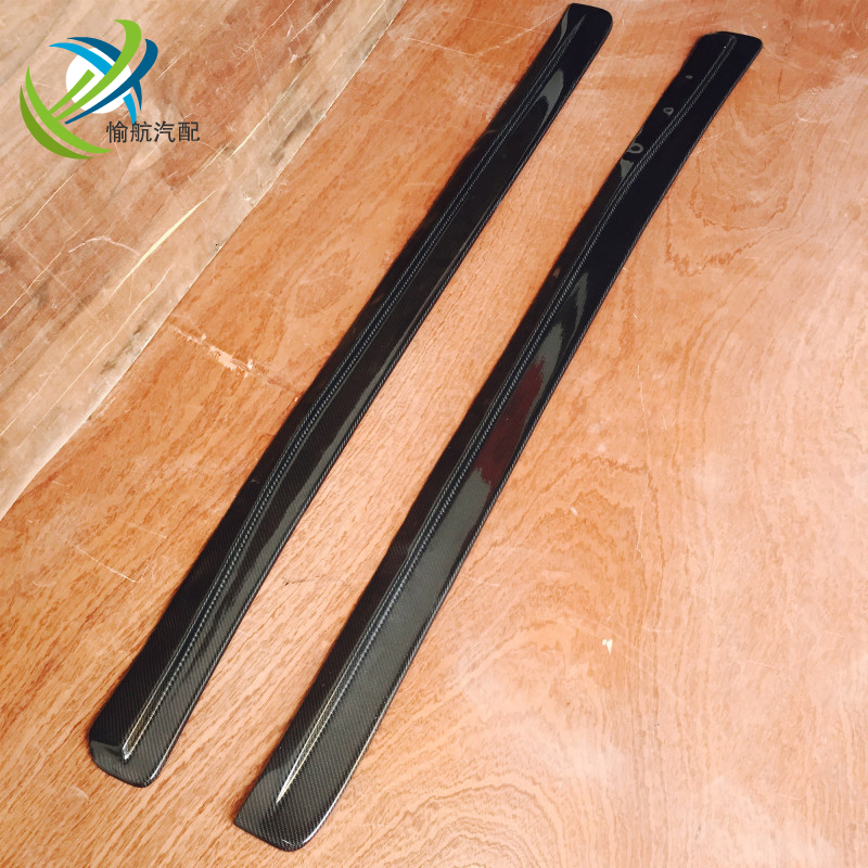 FRP FIBER GLASS FEED STYLE SIDE SKIRT EXTENSIONS UNDERBOARD FOR MAZDA RX7 FD3S