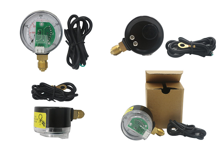 Cng auto spare parts ISO9001 certificate manometers 5V cng pressure gauge cng manometer