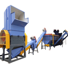 New condition factory price 400-1500kg/h PE/PP plastic film recycling machine washing line cleaning machine