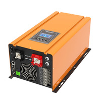 solar power pure sine wave inverter 5kw off grid with charger