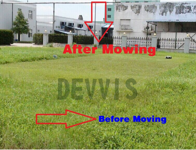 DEVVIS Newest and Best 5th Generation DEVVIS Robot Lawn Mower E1600T For Big Lawn Updated with Gyroscope Navigation