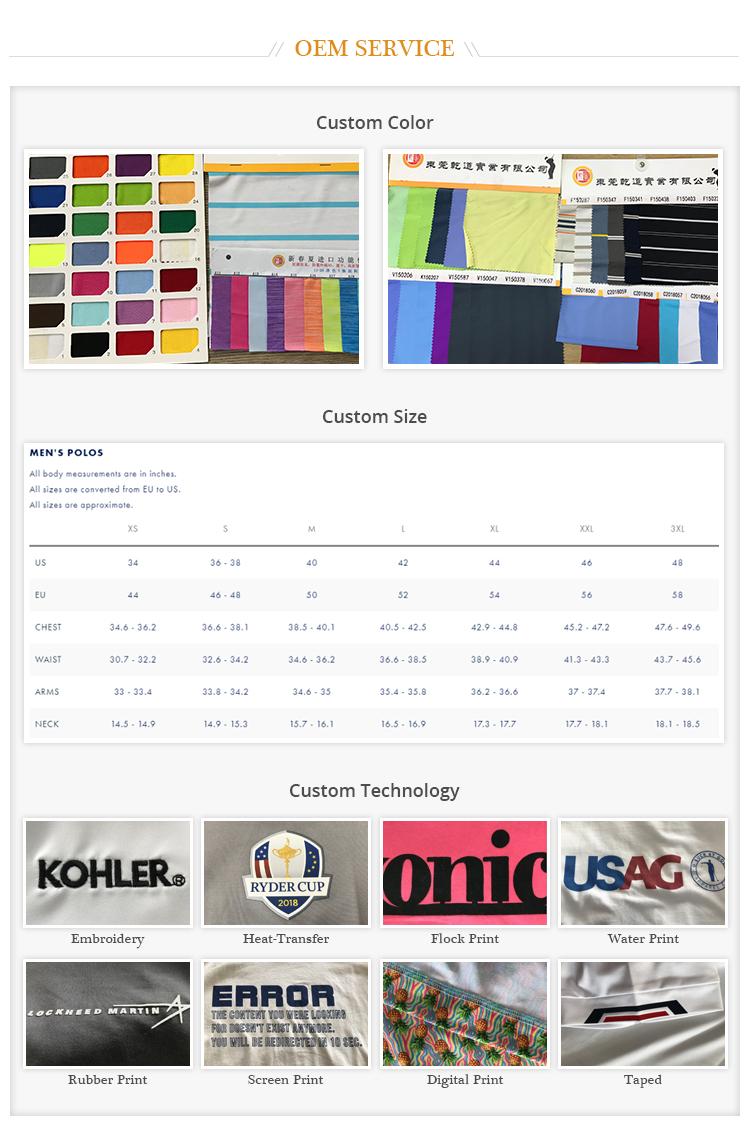 Performance Men Polka Dot Pattern Golf Shirt Custom Printing Long Sleeve Polo Shirt