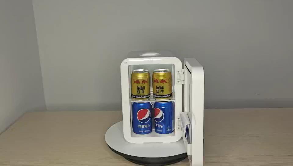 8L mini réfrigérateur chaud et froid lait Maternel Produits alimentaires Cosmétiques médicaments voiture réfrigérée portatif à la maison de réfrigérateur mini réfrigérateur
