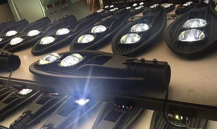 IP65 al aire libre COB Cobra las luces de la calle el precio de la lámpara 400W 300W 200W 50W 100W 150W luz de calle llevada