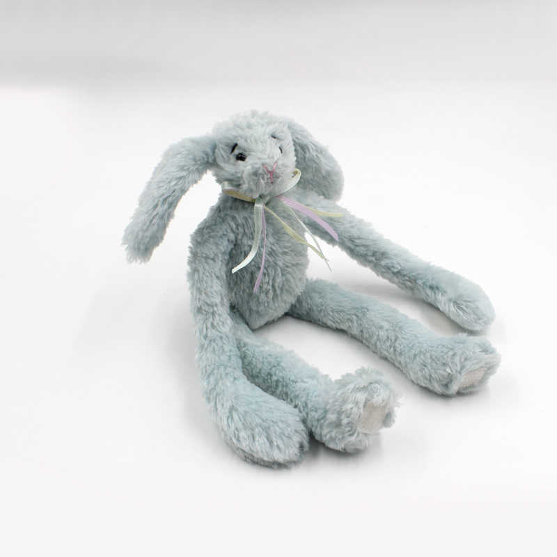 Good Quality Hot Selling Christmas Cute Soft Bunny Blue <strong>Rabbit</strong> Gifts