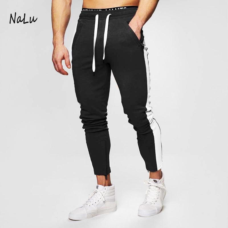 Yüksek kalite özel spor koşucu pantolonu erkek eşofman altları spor giyim için