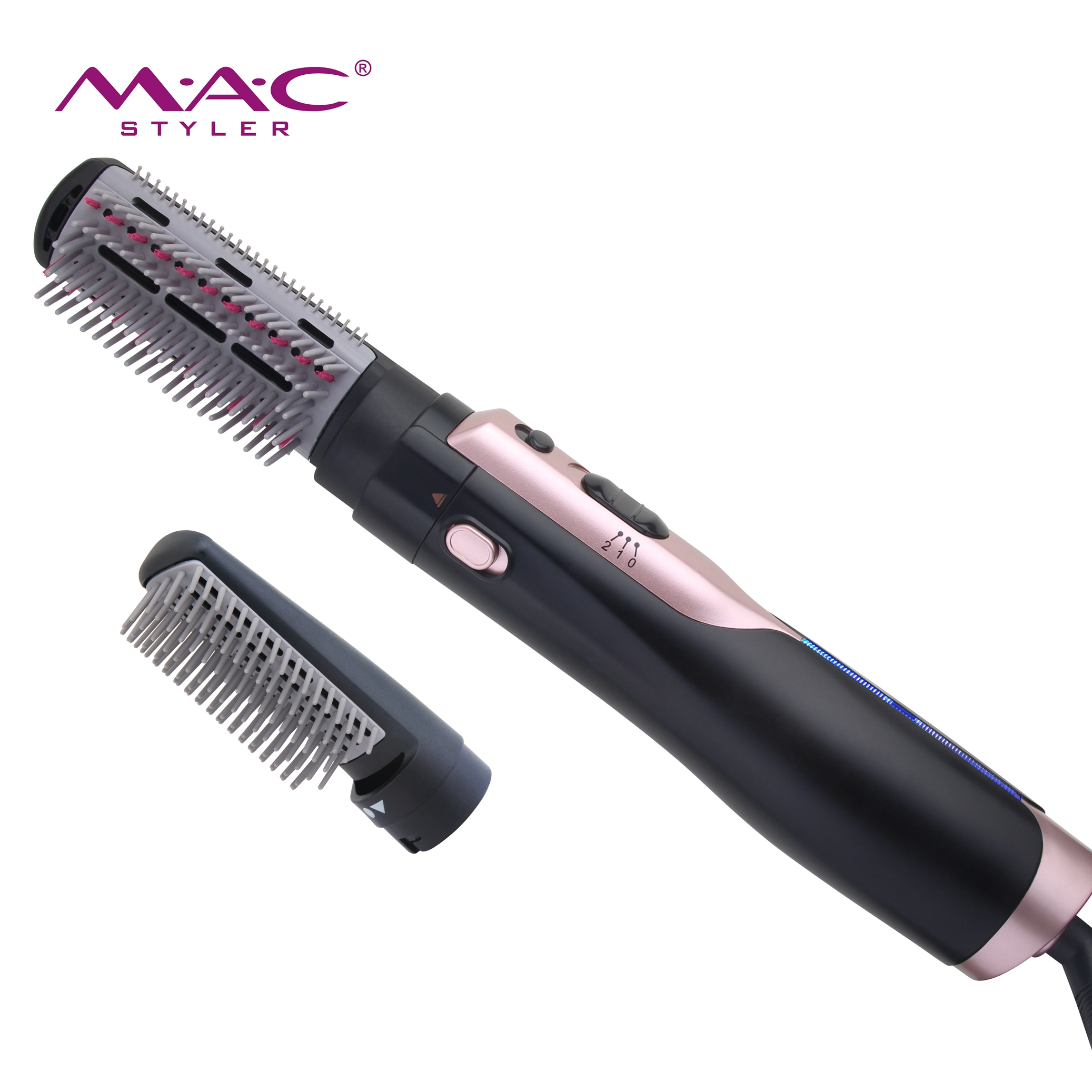 Very affordable and easy to use hair dryer comb Advanced professional low noise hair comb