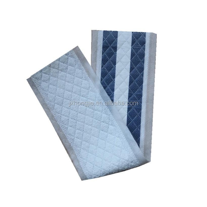 쉬운 3ply 흰색과 파란색 가정용 일회용 걸레 닦아