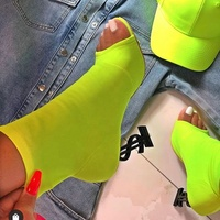 New Arrival Women Fashion Design Sock Special Heels Sandals Boots