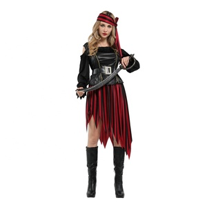 Drama performance biodegradable fiber party props set christmas party dress pirate costume