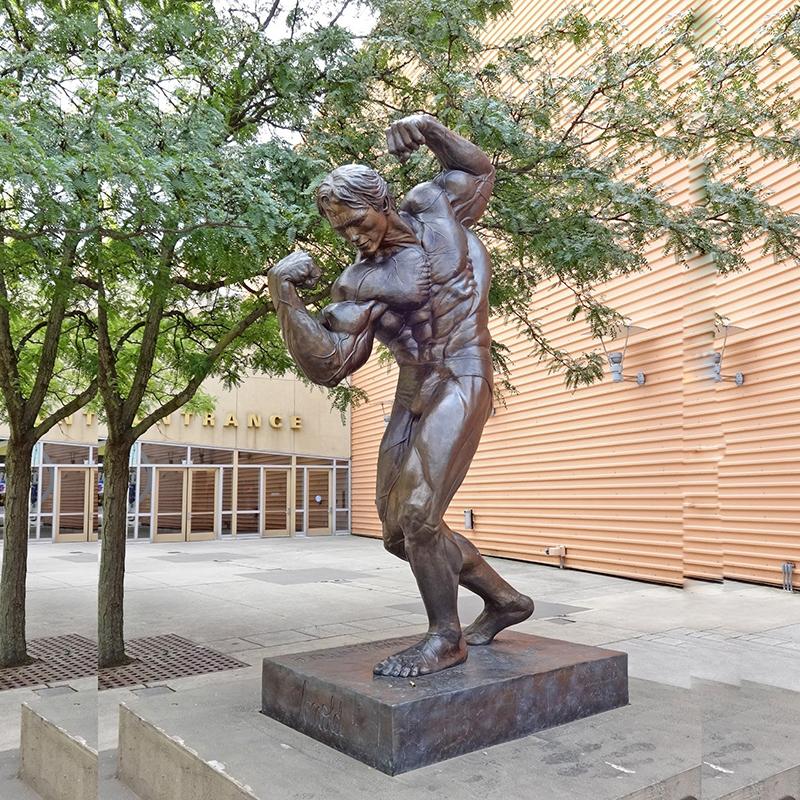 Bronze Life Size Nude Art Male Garden Statues - Buy Male