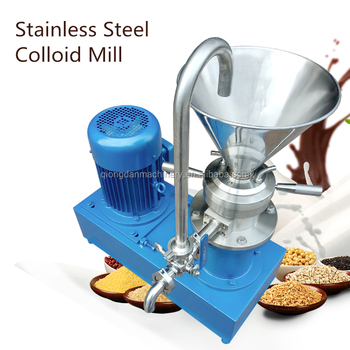 pharmaceutical colloid mill colloid mill paste process equip price Peanut butter production line Peanut Sesame grinder