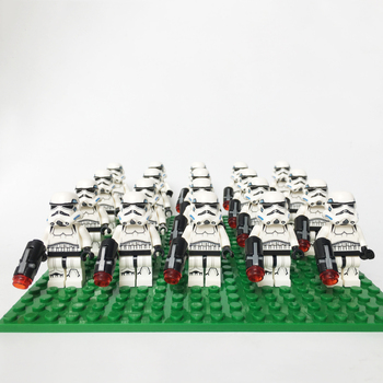 Star SW585 Wars Stormtrooper Compatible Legoe 75055 75060 75146 mini figures building brick Model Kids Christmas Gift