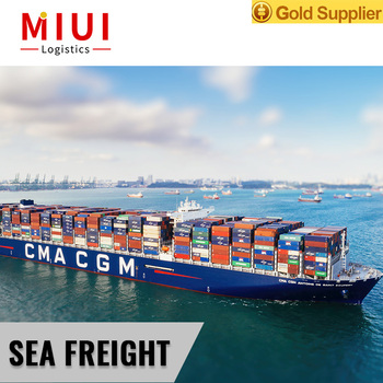 Sea freight from china to usa india shipping boxes