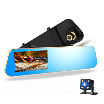 Reverse Image Wholesale Monitor Rearview Dashcam Car Mirror With Dvr