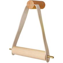 Винтажный держатель для туалетной бумаги треугольная полка для рулонов полка для хранения салфеток деревянная настенная вешалка для полот...(Китай)