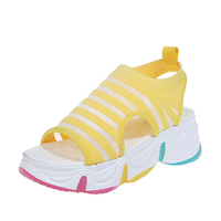 Summer female platform wedge ladies shoes women's sandals