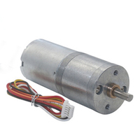 Mini Brushless Gear motor 12V 24V Long Life with Brake Controllable Positive and Negative FG Signal BLDC Motor Built-in Driver