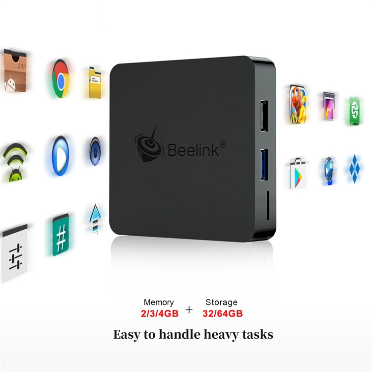 Beelink Attractive design GT1 mini Amlogic S905X2 3GB 32GB 4GB 64GB Android 8.1 4K video smart ott tv box
