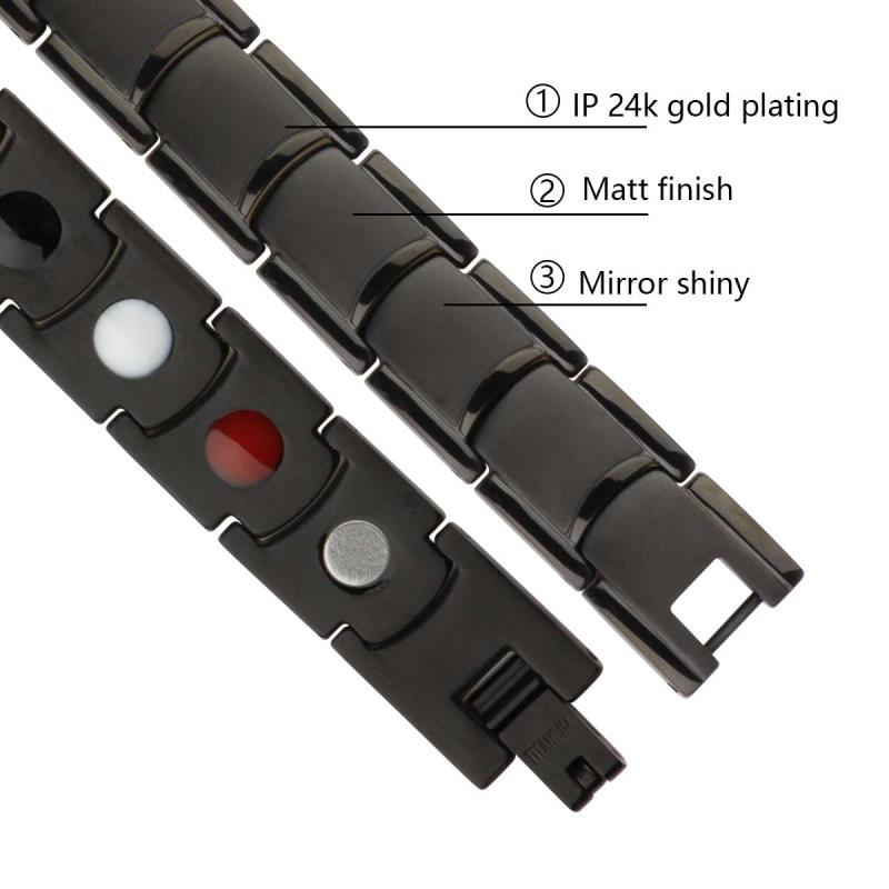Shenzhen Migaga Titanium Bracelet 4 In 1 Healthy Energy Customized Bracelet