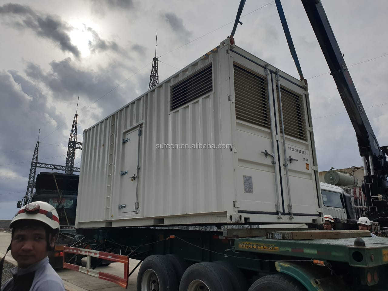 Powered by Cummins engine KTA38-G9 genset 1000kw silent 1250kva diesel generator price