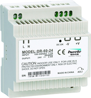 Din rail type DR-60W-24 60W 24V 2.5A Din rail power supply for Industrial automation