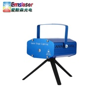 Christmas Star Projector Disco Stage RG effect Mini Laser Light