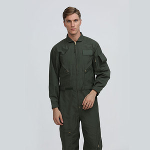 Pilot military coverall clothing