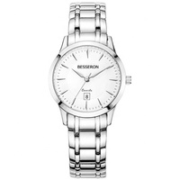 BESSERON top 100 watches brands all solid stainless steel japan movt trend product leather band wrist watch women