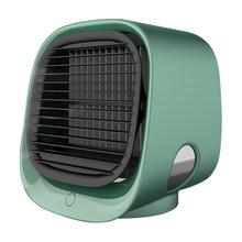 Вентилятор для охлаждения воздуха, настольный мини-кондиционер с ночным светильник, мини USB вентилятор для охлаждения воды, очиститель для ...(China)