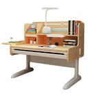 Study Hot Sale Ergonomic MDF Oversized Foldable Kids Study Table Chair