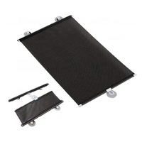 High Quality Black Retractable Sunshade Roller Car Curtain Window Shade For Windshield