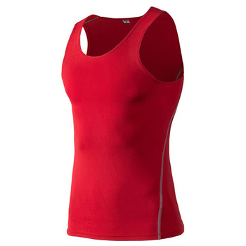Latest hot sale 100%polyester mesh sport vest woman o-neck tank tops ladies sleeveless singlets