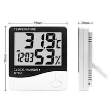 Igrometro Termometro digitale-50 a <span class=keywords><strong>70</strong></span> Indoor Outdoor LCD di Umidità di Temperatura Meter <span class=keywords><strong>HTC</strong></span>-1 Termometro A CRISTALLI LIQUIDI
