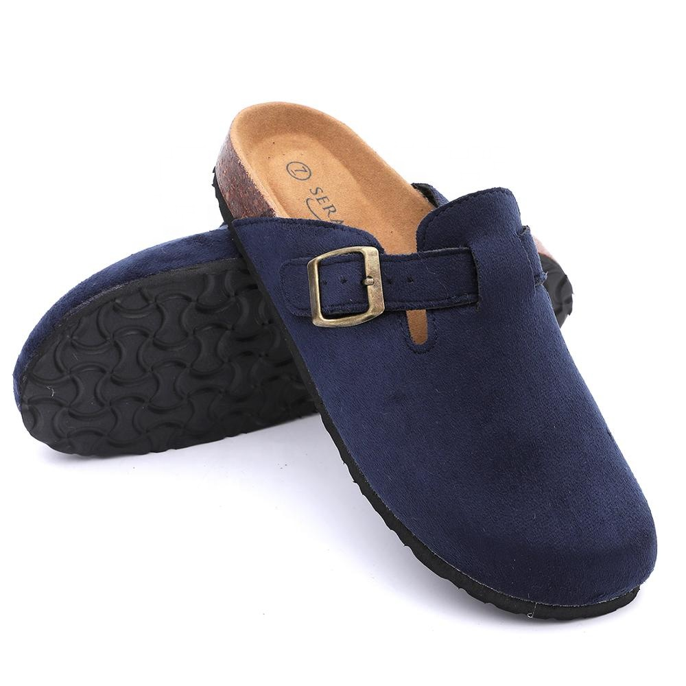 2020 New collection closed toe cork clogs for men and women indoor outdoor