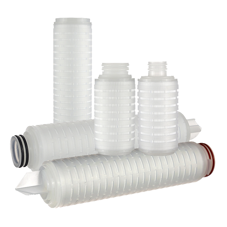 0.2/0.45um polyethersulfone ( PES ) filter cartridge Liquid Filter For Sterile Apis <strong>Filtration</strong>