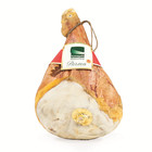 Parma cured ham with bone. CURED HAM pork grocery & gourmet food cure meat vacuum packed