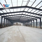 Prefab building custom size industrial construction building prefabricated steel structure warehouse