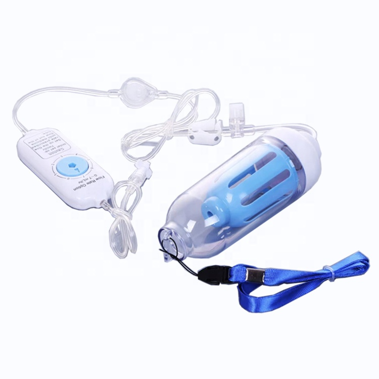 Elastomeric Power Drive Disposable Infusion Pump with a hard case