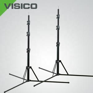 Professional aluminum photography studio video light stand aluminium tripod light stand tripod with 1/4 screw head