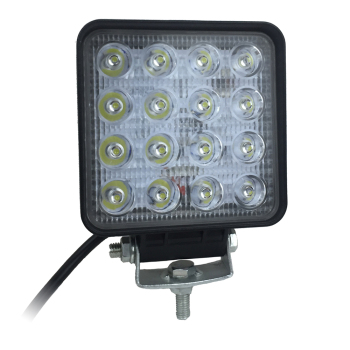 4 inch 48W Square led work light for Trucks tractors LED driving light wholesale offroad 4x4 led light 12V 24V