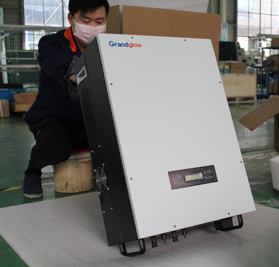 GOOD QUALITY 10KW THREE PHASE 380V MPPT 10KW GRID TIE SOLAR INVERTER