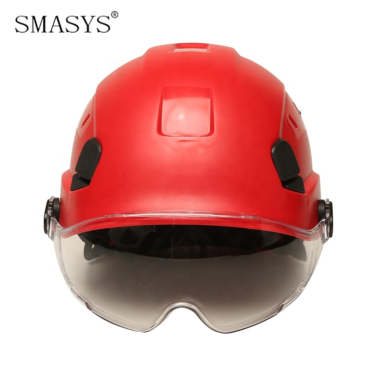 SMASYS Retail Adjustable Climbing Construction Safety Helmet