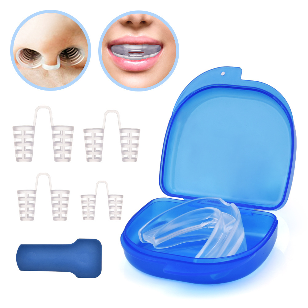 Sleep Aid Night Mouth Guard Snore Stopper mouthpiece stop anti snoring device
