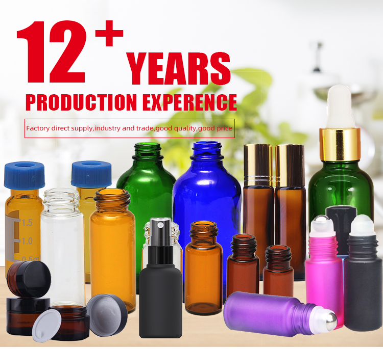 5ml, 10ml, 15ml glass dropper bottle child proof tamper evident cap