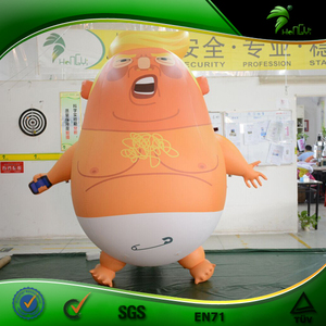 Funny Inflatable Trump Balloon Blimp Inflatable Trump Baby In London Trump Chicken Air Model