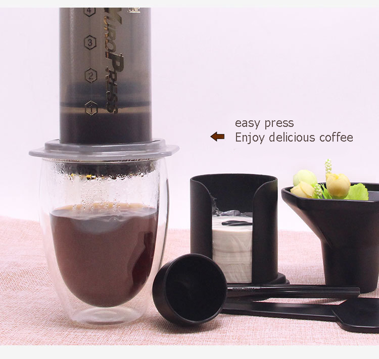 Good Portable Diy Coffee Pot Yuropress Espresso Coffee Maker Desktop Coffee Machine