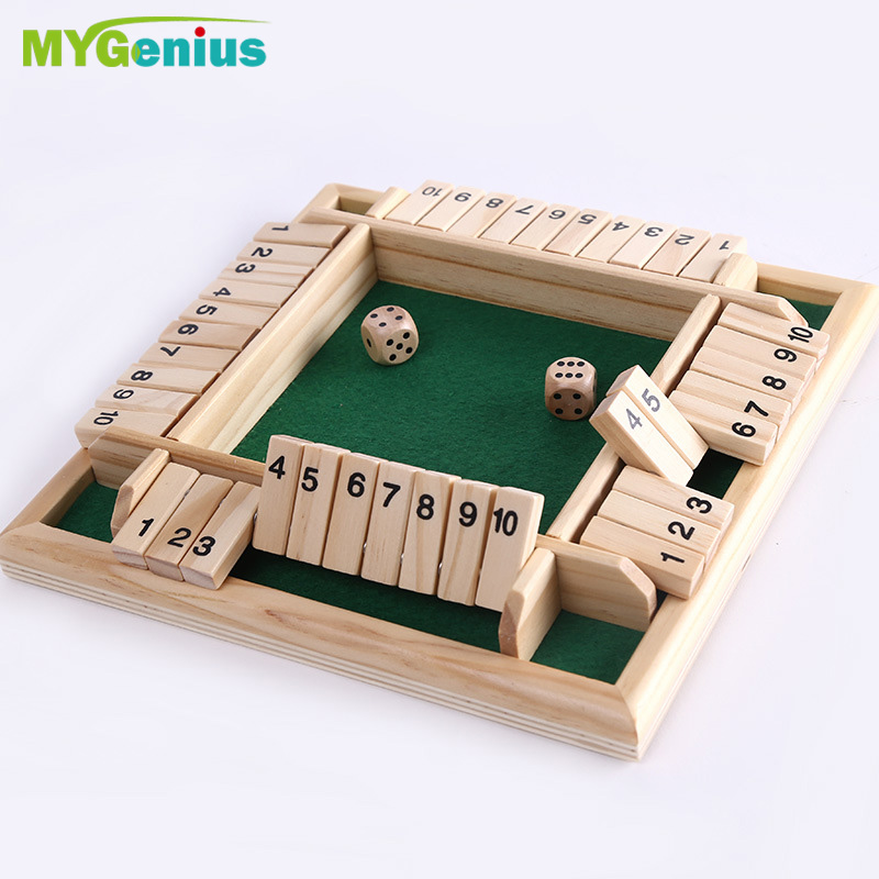 Scatola di legno gioco da tavolo H0Q4w intelligente gioco da tavolo