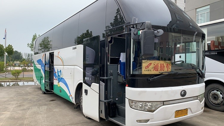 Yutong Diesel Used Coach Bus LHD 2015 Year 50 Seats With